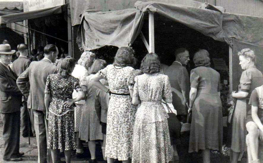 Verkaufsstand - 1962